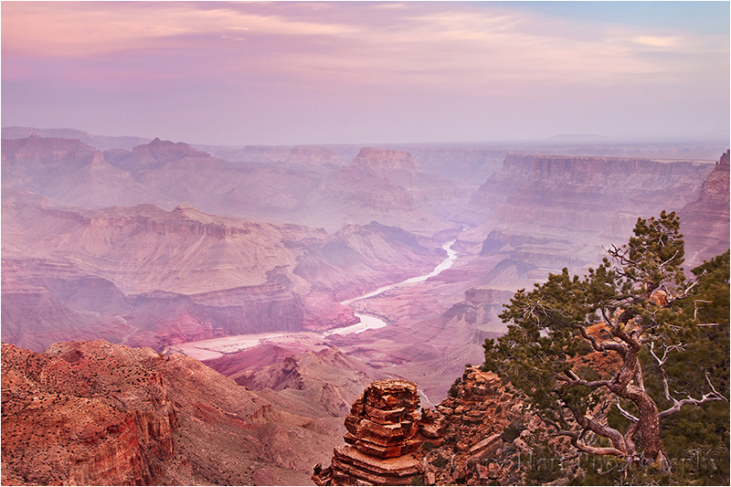 Pastel Dawn, Desert View, Grand Canyon