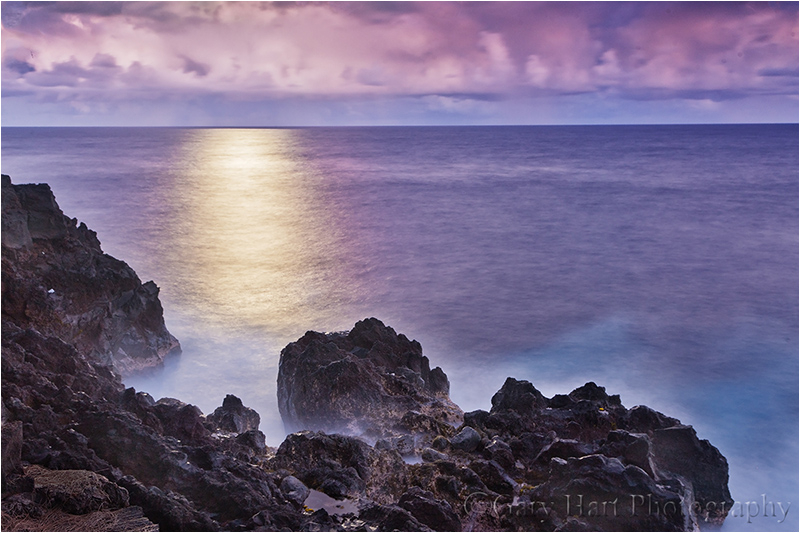 Moonlight on the Water, Hawaii