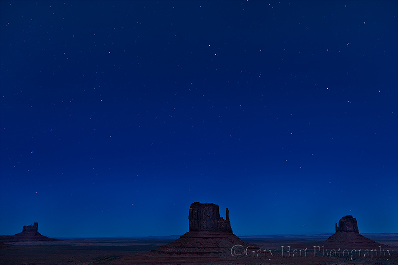 Big Dipper Over Monument Valley