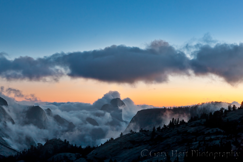 From the Clouds, Half Dome from Olmsted Point