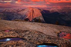 Sunset Palette, Yosemite