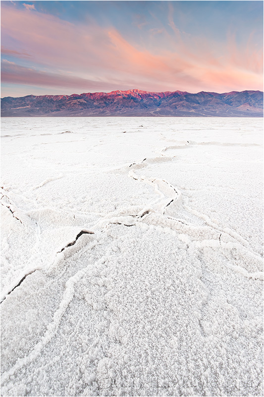 Sunrise, Badwater, Death Valley