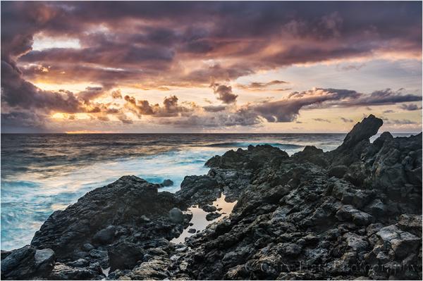 Sunrise, Oheo Gulch, Maui