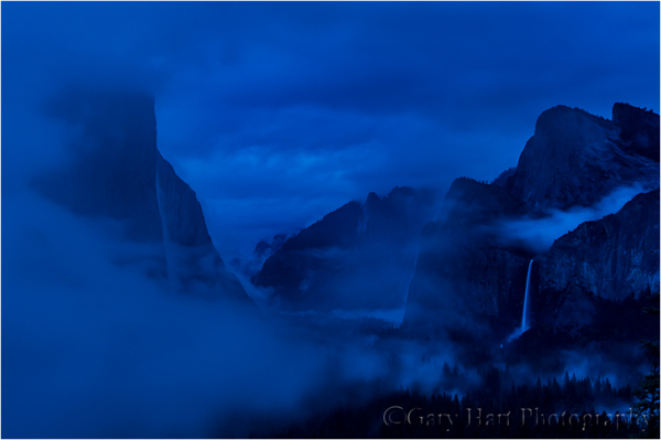 Clearing Storm in Twilight, Yosemite Valley