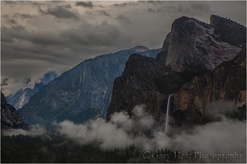 Valley Mist, Tunnel View, Yosemite