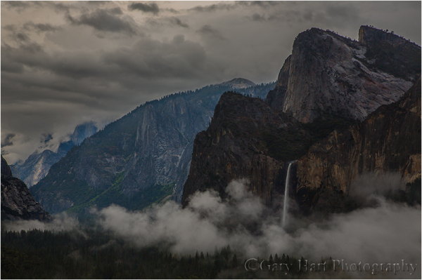 Valley Mist, Tunnel View, Yosemite