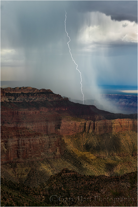 Electric Downpour, Point Imperial, Grand Canyon