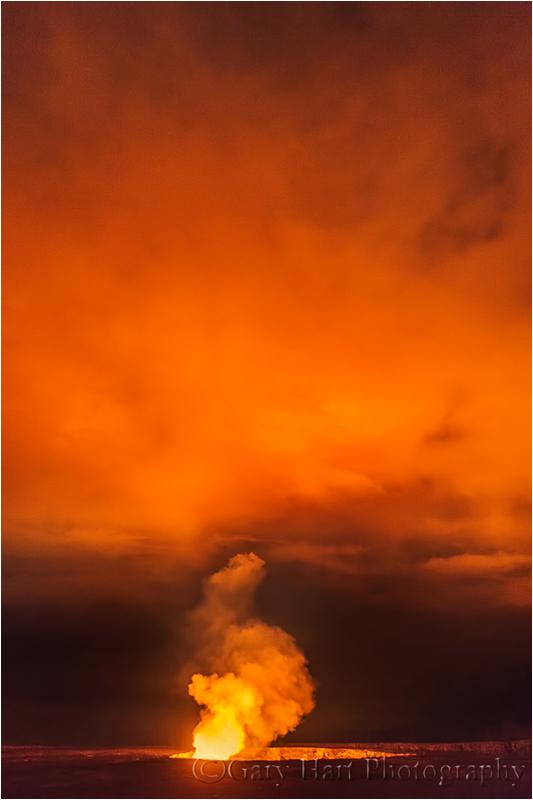 Gates of Hell, Halemaʻumaʻu Crater, Hawaii