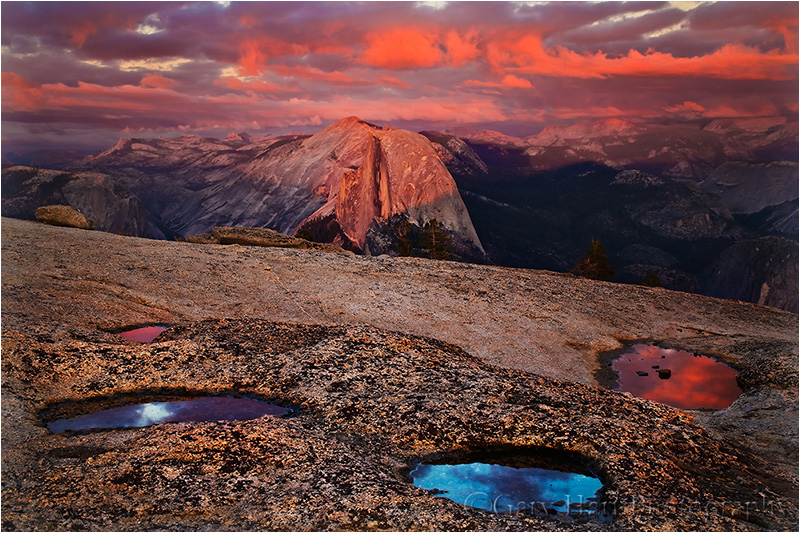 Sunset Palette, Half Dome, Yosemite