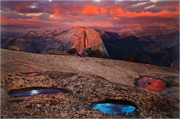 Sunset Palette, Half Dome, Yosemite