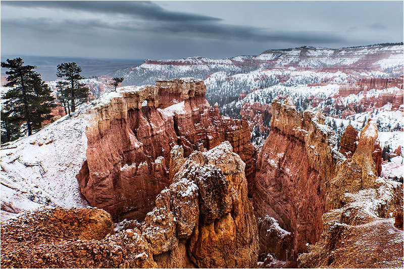 Winter Glaze, Sunrise Point, Bryce Canyon
