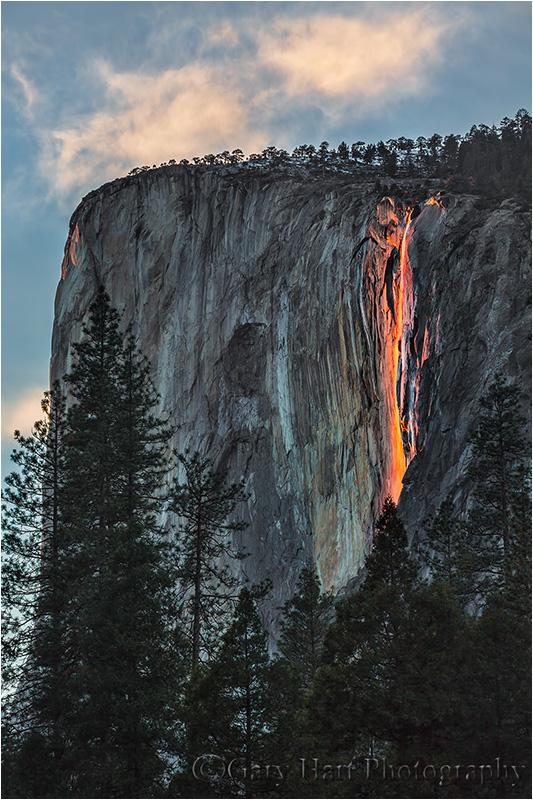 Molten Monolith, Horsetail Fall, Yosemite