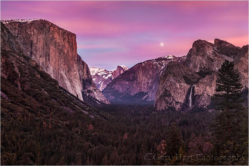 Twilight Magic, Yosemite Valley