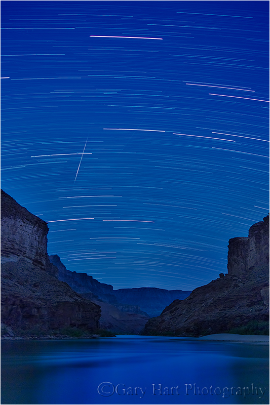 Sky in Motion, Colorado River and the Grand Canyon