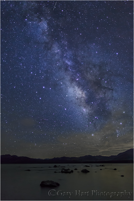 Summer Night, Mono Lake Beneath the Milky Way