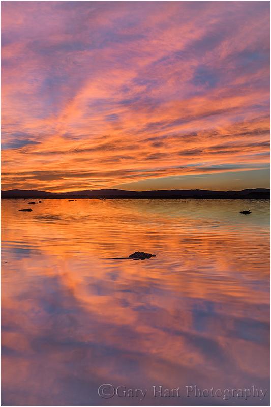 MonoLake, sunrise, EasternSierra