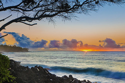 Hawaii Sunrise, Puna Coast, Big Island
