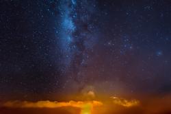 Heavenly Fire, Kilauea Caldera, Hawaii