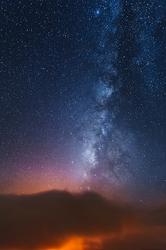 Earth and Sky, Kilauea Caldera, Hawaii