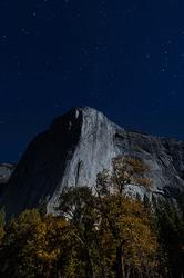 Autumn Moonlight, El Capitan, Yosemite