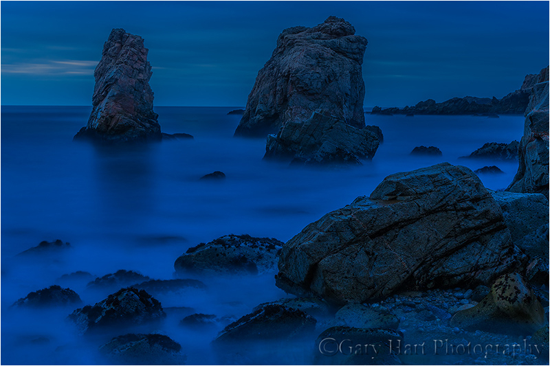 Nightfall, Big Sur Coast, California