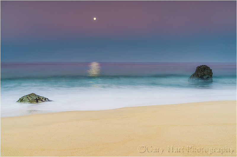 Moonlight on the Water, Garrapata Beach, Big Sur
