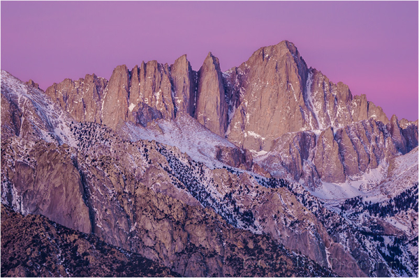 Dawn Portrait, Mt. Whitney