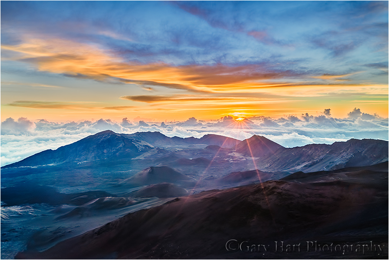 Top of the World, Haleakala Volcano, Maui, Hawaii