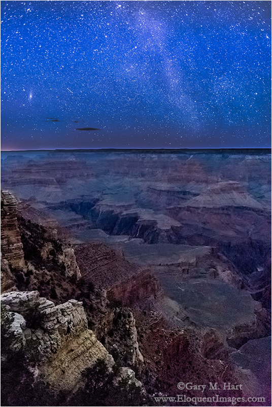 Starry Night, Mather Point, Grand Canyon