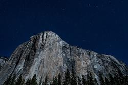 El Capitan and the Big Dipper, Yosemite