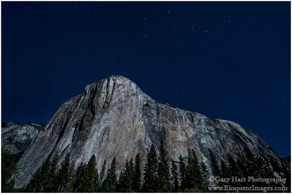 El Capitan and the Big Dipper, Yosemite