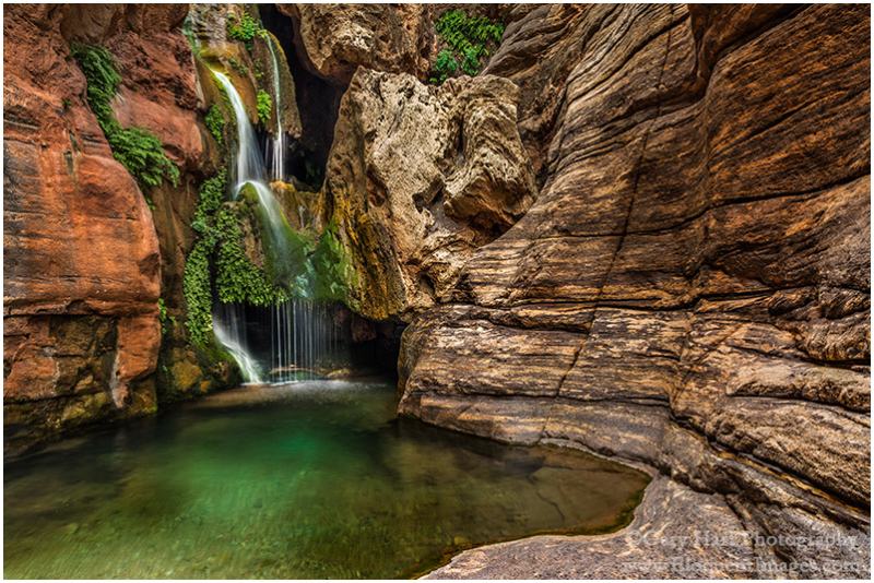 Emerald Pool, Elves Chasm, Grand Canyon
