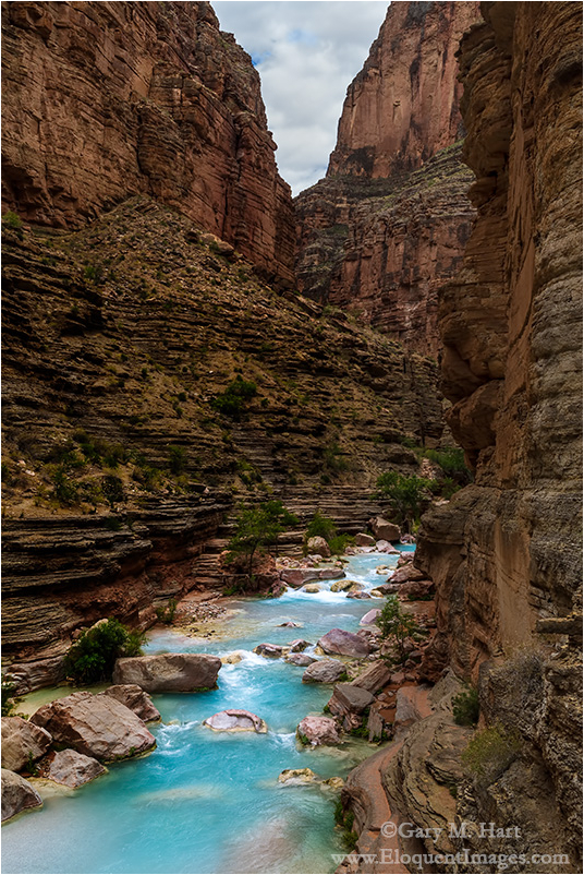 Blue Ribbon, Havasu Creek, Inner Grand Canyon