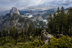 Clearing Storm, Glacier Point, Yosemite