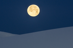 Blue Moon, White Sands National Monument