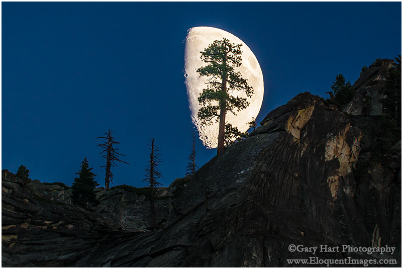 Big Moon, Valley View, Yosemite Valley