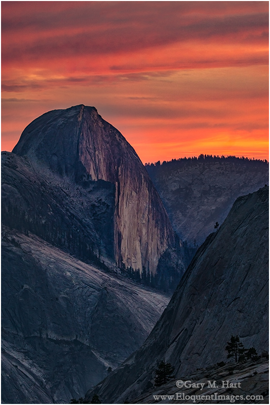 Half Dome at Sunset, Olmsted Point, Yosemite