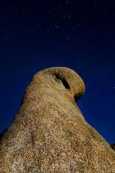 Cassiopeia Above Mobius Arch, Alabama Hills, Calif