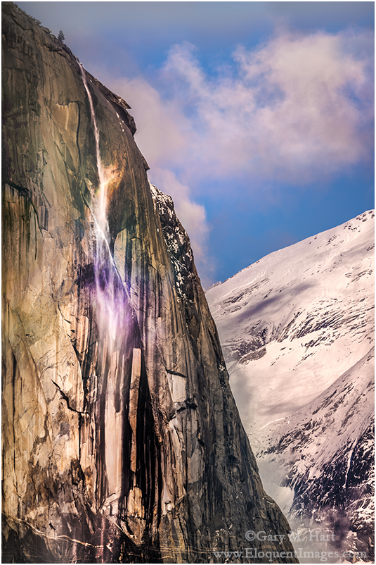 Horsetail Fall Rainbow, El Capitan, Yosemite