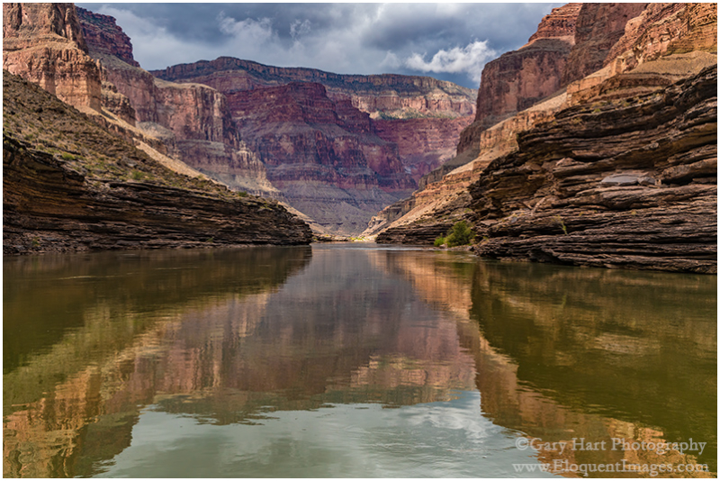 Grand Reflection, Colorado River, Grand Canyon
