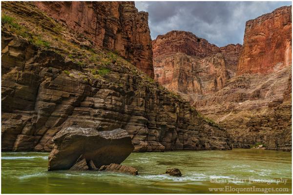 River Rock, Colorado River, Grand Canyon