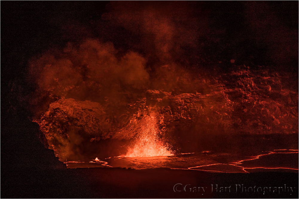 Kilauea Fountain, Hawaii