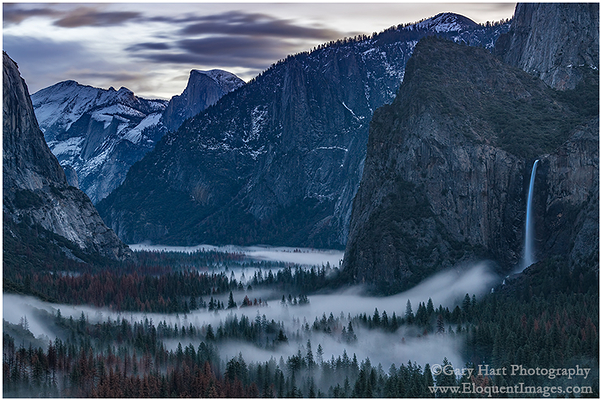Dawn, Tunnel View, Yosemite