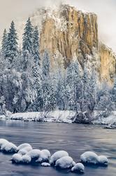 Snowcap, El Capitan, Yosemite