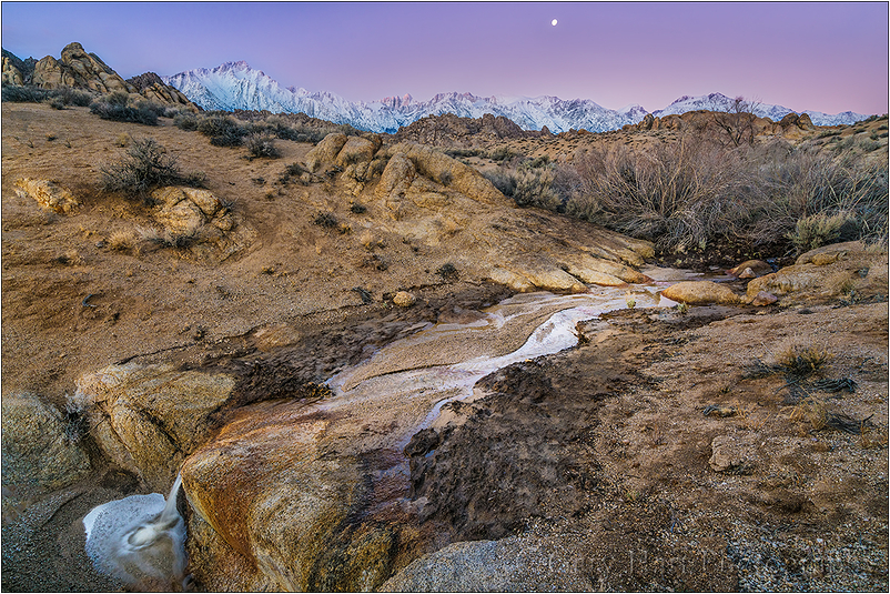 Sierra Dawn, Mt. Whitney and the Alabama Hills