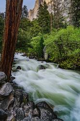 Rapids, Half Dome and Tenaya Creek, Yosemite