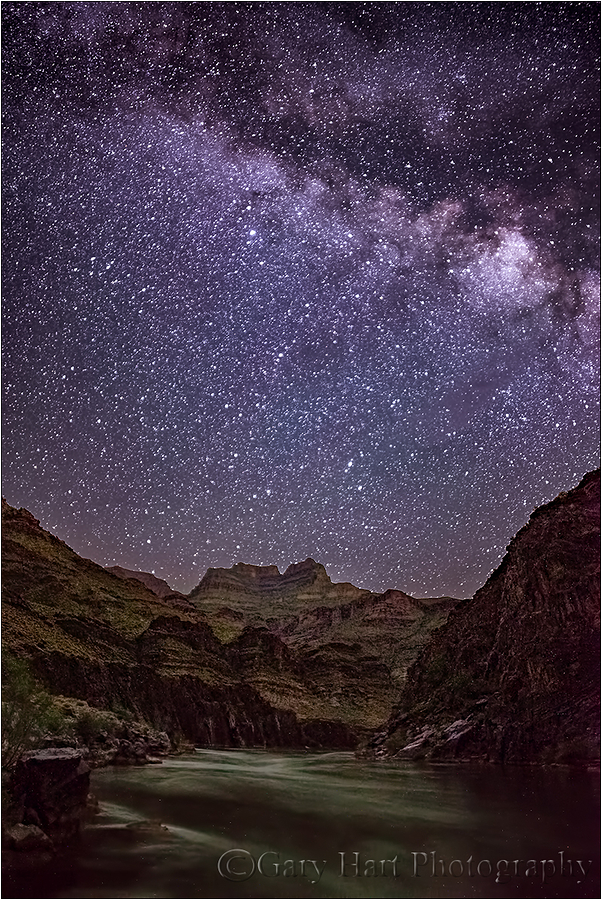Starry Night, Colorado River, Grand Canyon
