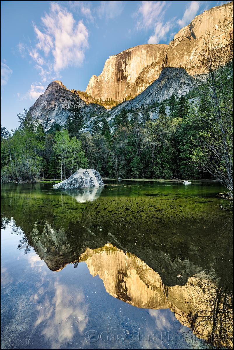 Evening Reflection, Mirror Lake, Yosemite