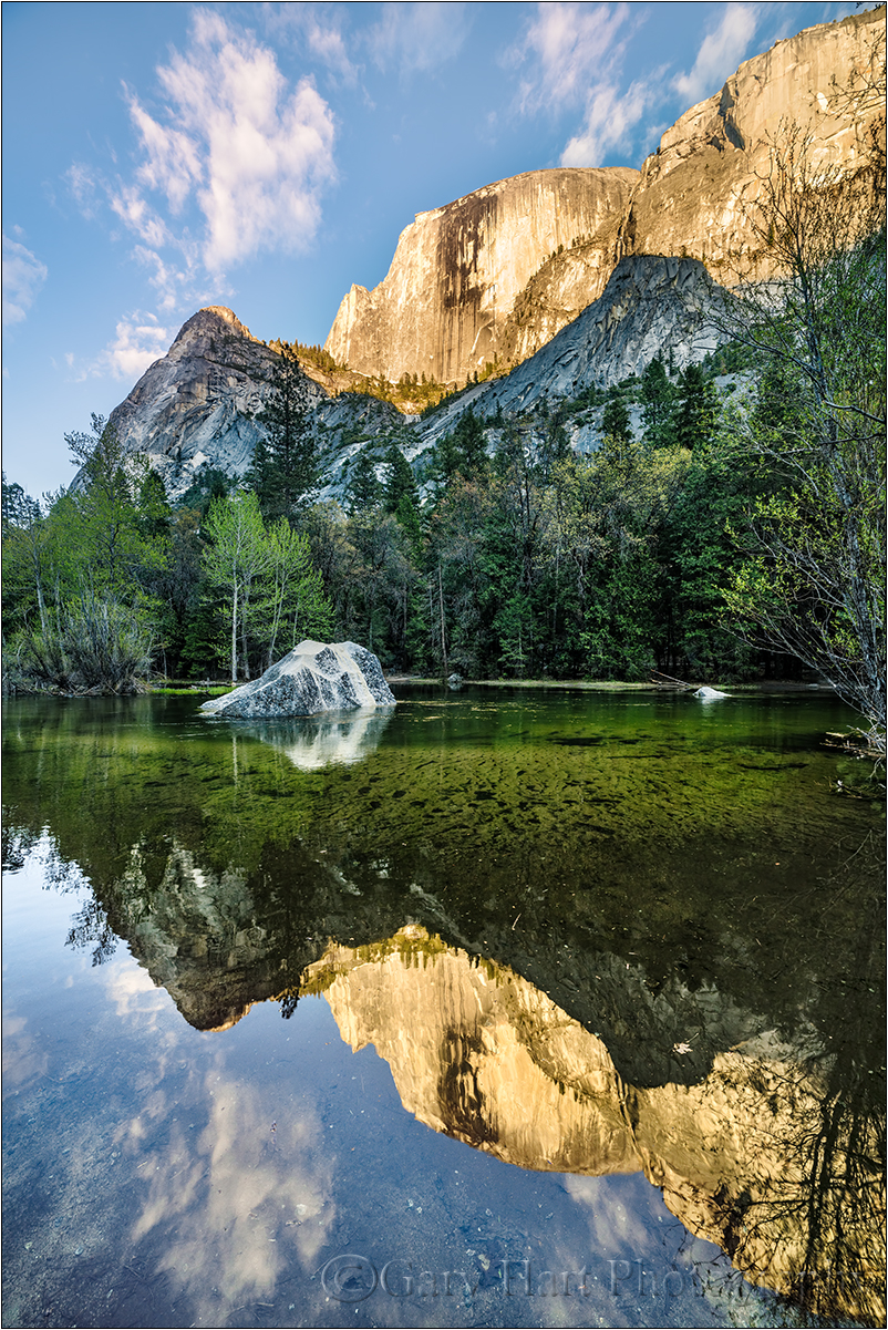 Evening Reflection, Mirror Lake, Yosemite