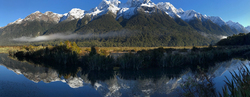 Mt. Eglinton, Mirror Lakes, New Zealand